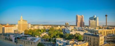 Στο κέντρο της πόλης ορίζοντας του San Antonio Στοκ Εικόνα