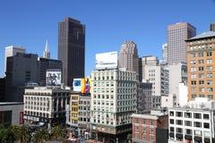 στο κέντρο της πόλης ουρανοξύστες Francisco SAN στοκ φωτογραφίες