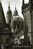 στο κέντρο της πόλης Πράγα Στοκ Φωτογραφίες