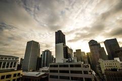 Στο κέντρο της πόλης Σαν Φρανσίσκο Στοκ Εικόνες