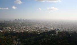 στο κέντρο της πόλης Los όψη της Angeles Στοκ φωτογραφία με δικαίωμα ελεύθερης χρήσης