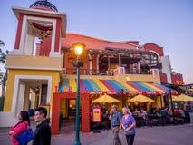 Στο κέντρο της πόλης αγορές της Disney και περιοχή ψυχαγωγίας Στοκ Εικόνα