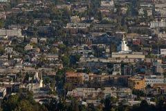 Στο κέντρο της πόλης ανατολή Hollywood Στοκ Εικόνες