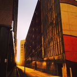 Στο κέντρο της πόλης Αλμπικέρκη Στοκ Εικόνες
