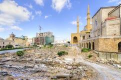 Στο κέντρο της πόλης Βηρυττός, Λίβανος Στοκ εικόνα με δικαίωμα ελεύθερης χρήσης