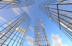 Στο κέντρο της πόλης κτήριο Στοκ Φωτογραφίες