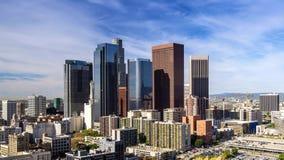 Στο κέντρο της πόλης Λος Άντζελες απόθεμα βίντεο