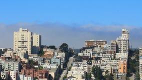Στο κέντρο της πόλης οδός του Σαν Φρανσίσκο απόθεμα βίντεο