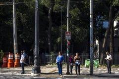 στο κέντρο της πόλης Σάο του Paulo Στοκ φωτογραφία με δικαίωμα ελεύθερης χρήσης