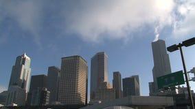 Στο κέντρο της πόλης Σιάτλ, Ηνωμένες Πολιτείες απόθεμα βίντεο