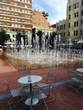 Στο κέντρο της πόλης υδάτινα έργα Στοκ Εικόνες