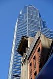 Στο κέντρο της πόλης ουρανοξύστης της Φιλαδέλφειας Στοκ εικόνα με δικαίωμα ελεύθερης χρήσης