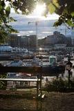 Στο κέντρο της πόλης Όσλο Στοκ εικόνα με δικαίωμα ελεύθερης χρήσης