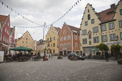 Στο κέντρο της πόλης Abensberg Στοκ φωτογραφία με δικαίωμα ελεύθερης χρήσης