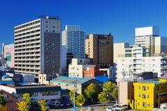 Στο κέντρο της πόλης Aomori, Ιαπωνία Στοκ Εικόνες