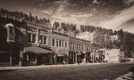 Στο κέντρο της πόλης Deadwood Στοκ εικόνα με δικαίωμα ελεύθερης χρήσης