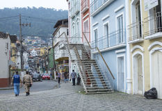 Στο κέντρο της πόλης DOS Reis, Βραζιλία Angra Στοκ φωτογραφίες με δικαίωμα ελεύθερης χρήσης