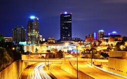 Στο κέντρο της πόλης Knoxville Στοκ εικόνα με δικαίωμα ελεύθερης χρήσης