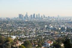 στο κέντρο της πόλης Los ορίζοντας της Angeles Στοκ Εικόνα