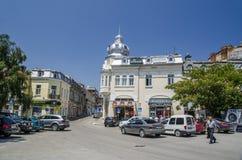 Στο κέντρο της πόλης Ruse Στοκ εικόνες με δικαίωμα ελεύθερης χρήσης