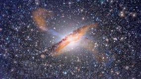 Στο κέντρο του γαλαξία απόθεμα βίντεο