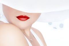 Στο καπέλο στοκ εικόνα με δικαίωμα ελεύθερης χρήσης