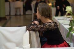 Στο κόμμα δωματίων Στοκ φωτογραφίες με δικαίωμα ελεύθερης χρήσης