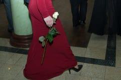 Στο κόμμα prom Στοκ εικόνες με δικαίωμα ελεύθερης χρήσης