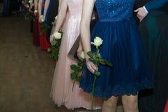 Στο κόμμα prom Στοκ φωτογραφία με δικαίωμα ελεύθερης χρήσης