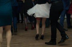 Στο κόμμα prom Στοκ Εικόνα