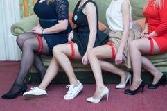 Στο κόμμα prom Στοκ φωτογραφίες με δικαίωμα ελεύθερης χρήσης