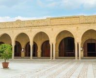 Στο μεγάλο μουσουλμανικό τέμενος Sousse Στοκ φωτογραφία με δικαίωμα ελεύθερης χρήσης