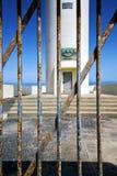 Στο μπλε ουρανό   arrecife teguise Lanzarote Ισπανία Στοκ φωτογραφία με δικαίωμα ελεύθερης χρήσης