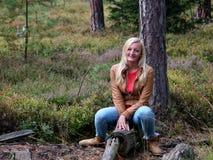 Στο ξύλο Στοκ φωτογραφία με δικαίωμα ελεύθερης χρήσης