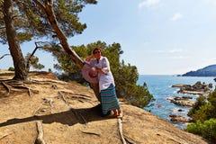 Στο πάρκο κοντά Lloret de Mar στην Ισπανία Στοκ Φωτογραφία