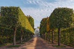 Στο πάρκο της Catherine, Pushkin, Tsarskoe Selo Στοκ Φωτογραφία