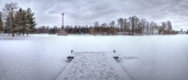 Στο πάρκο της Catherine, Tsarskoe Selo Στοκ Εικόνα