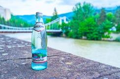 Στο ποτό Borjomi σε Borjomi Στοκ φωτογραφία με δικαίωμα ελεύθερης χρήσης