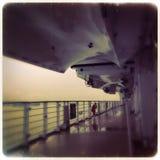 Στο σκάφος - θλιβερό Στοκ Εικόνα