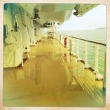 Στο σκάφος Στοκ Εικόνες