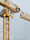 Στο στάδιο της κατασκευής ενός γερανού σε Pymble Στοκ φωτογραφία με δικαίωμα ελεύθερης χρήσης