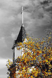 Στο σταυρό Στοκ φωτογραφίες με δικαίωμα ελεύθερης χρήσης
