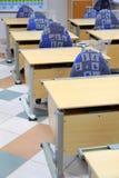 Στο σχολείο πρωτοβάθμιας εκπαίδευσης κλάσης Στοκ Εικόνες