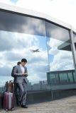 Στο σύγχρονο αερολιμένα Στοκ φωτογραφία με δικαίωμα ελεύθερης χρήσης