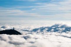 Στο σύννεφο Στοκ Φωτογραφίες