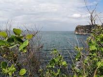 Στο τέλος του ωκεανού Στοκ εικόνες με δικαίωμα ελεύθερης χρήσης