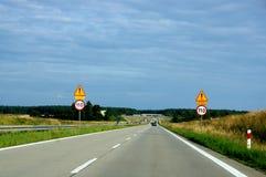 Στο ταξίδι Στοκ Εικόνες