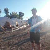 Στο του χωριού στρατόπεδο DA Στοκ Φωτογραφία