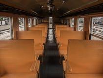 Στο τραίνο Στοκ φωτογραφία με δικαίωμα ελεύθερης χρήσης