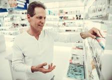 Στο φαρμακείο στοκ φωτογραφία με δικαίωμα ελεύθερης χρήσης